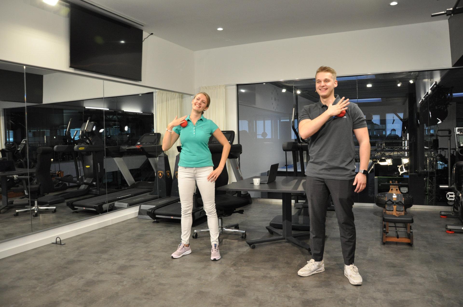 Elbcarma Studio Übungen